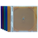 STANDARD Assorted Color CD Jewel Case