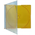 SLIM ORANGE Color CD Jewel Cases
