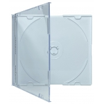 SLIM WHITE Color CD Jewel Cases