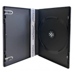 STANDARD Black Single DVD Cases 14MM