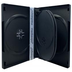 25 Black 5 Disc DVD Cases