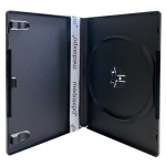 PREMIUM STANDARD Black Single DVD Cases 14MM (100% New Material)