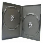 STANDARD Black Double DVD Cases