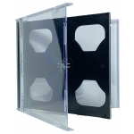 STANDARD Black Double CD Jewel Case