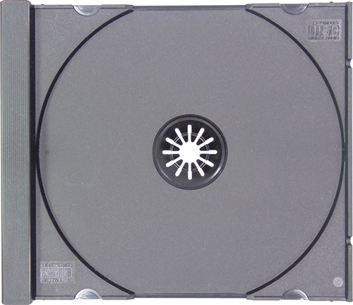 100 STANDARD Black CD Jewel Case (Tray Only, NO Cartons ...