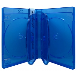 100 PREMIUM Blu-Ray 6 Disc DVD Cases