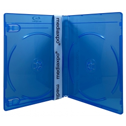 100 PREMIUM STANDARD Blu-Ray Double DVD Cases 12MM