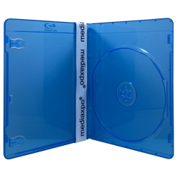 25 PREMIUM SLIM Blu-Ray Single DVD Cases 7MM