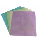 CD Double-sided Plastic Sleeve Assorted Color Budget