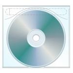 CD Plastic Sleeve Tamper Evident Adhesive Back