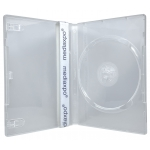 STANDARD Clear Single DVD Cases