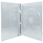 SLIM Clear Single DVD Cases 7MM
