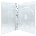 SLIM SUPER Clear Single DVD Cases 7MM