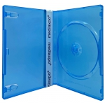 STANDARD Clear Blue Color Single DVD Cases