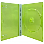STANDARD Clear Green Color Single DVD Cases