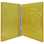 STANDARD Clear Orange Color Single DVD Cases