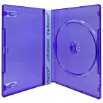 STANDARD Clear Purple Color Single DVD Cases