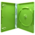STANDARD Solid Green Color Single DVD Cases
