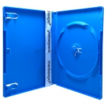 STANDARD Solid Blue Color Single DVD Cases