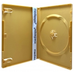 STANDARD Solid Orange Color Single DVD Cases