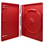 STANDARD Solid Red Color Single DVD Cases