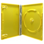 STANDARD Solid Yellow Color Single DVD Cases