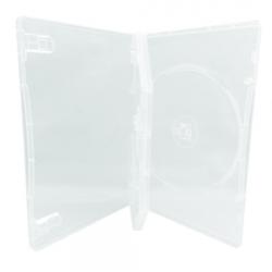 25 STANDARD Clear Triple 3 Disc DVD Cases /w Patented M-Lock Hub