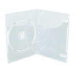 SLIM Clear Single DVD Cases 9MM