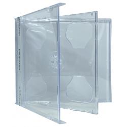 200 STANDARD Clear Double CD Jewel Case