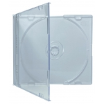SLIM Clear CD Jewel Cases