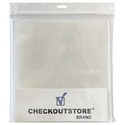 """50 Checkoutstore Clear Plastic Cpp Outer Sleeves For 12"""" Vinyl 33 Rpm Records"""