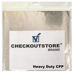 """50 Checkoutstore Clear Plastic Cpp Inner Sleeves For 12"""" Vinyl 33 Rpm Records"""