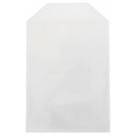 CPP Clear Plastic Sleeve with Flap (Fits 14mm DVD Case Artwork)