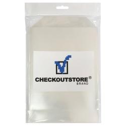 100 Checkoutstore Clear Storage Pockets (6 3/4 X 9 1/2)