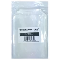 100 Checkoutstore Clear Storage Pockets (5 5/8 X 7 3/8)