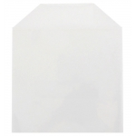 CPP Clear Plastic Sleeve with Flap  (No Stitches)