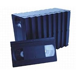 10 Standard VHS 60 Min Tape