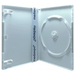 PREMIUM STANDARD Solid White Color Single DVD Cases (Professional Use)