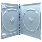 PREMIUM STANDARD Solid White Color Double DVD Cases (100% New Material)