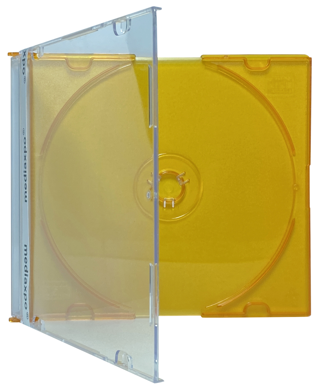 100 SLIM ORANGE Color CD Jewel Cases